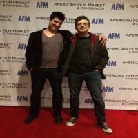 American Film Market, With director Jeffery Lando (2014)